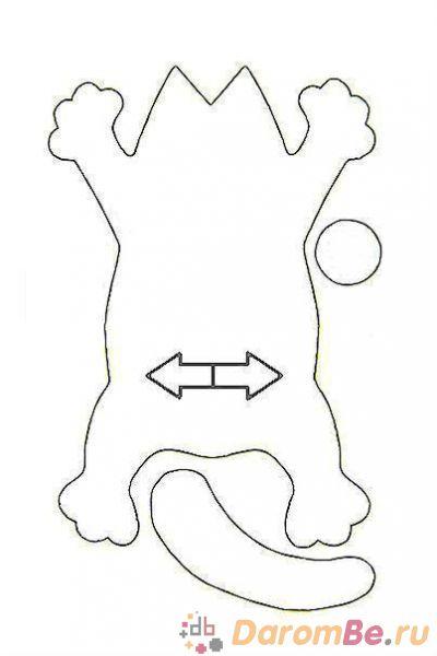 Игрушки своими руками выкройки кот саймон